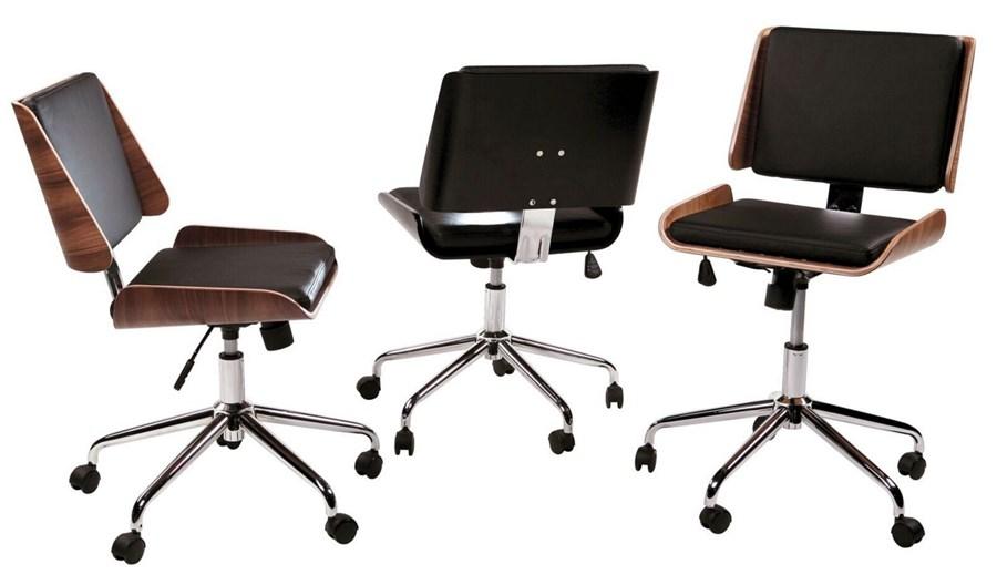 Retro kontorsstol dan form inredningstips